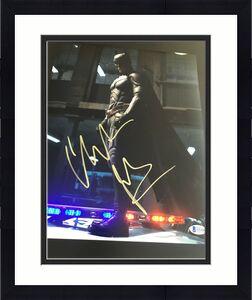 CHRISTIAN BALE SIGNED AUTOGRAPH 11x14 PHOTO BATMAN DARK KNIGHT BECKETT BAS COA