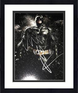 CHRISTIAN BALE SIGNED AUTOGRAPH 11x14 PHOTO BATMAN DARK KNIGHT RISES IN PERSON U
