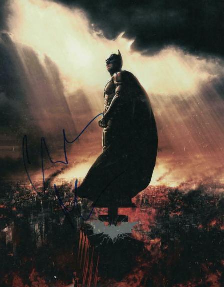 CHRISTIAN BALE SIGNED AUTOGRAPH 11x14 PHOTO - THE DARK KNIGHT, BATMAN, VICE STUD