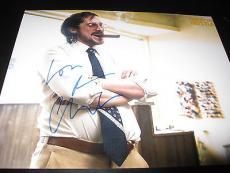 CHRISTIAN BALE SIGNED AUTOGRAPH 8x10 PHOTO AMERICAN HUSTLE PROMO IN PERSON COA J