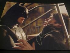 CHRISTIAN BALE SIGNED AUTOGRAPH 8x10 PHOTO BATMAN DARK KNIGHT RISES PROMO COA G
