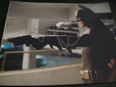 CHRISTIAN BALE SIGNED AUTOGRAPH 8x10 PHOTO BATMAN DARK KNIGHT RISES PROMO COA S