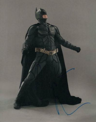 Christian Bale Signed Autograph 8x10 Photo - Batman, The Dark Knight The Fighter
