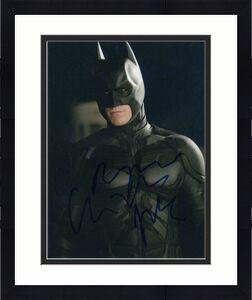 Christian Bale Signed Autograph 8x10 Photo - Bruce Wayne Stud, Batman Begins