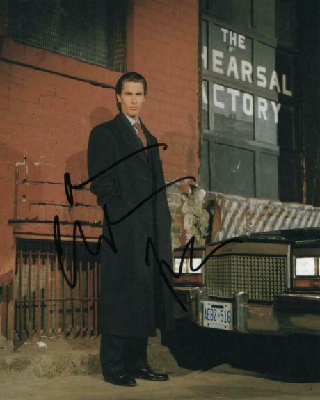 Christian Bale Signed Autograph 8x10 Photo - Chris Nolan's Dark Knight Batman