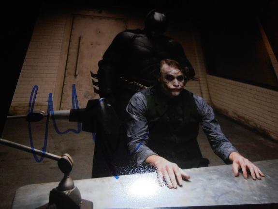 CHRISTIAN BALE SIGNED AUTOGRAPH 8x10 PHOTO DARK KNIGHT BATMAN IN PERSON COA X1