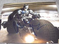 CHRISTIAN BALE SIGNED AUTOGRAPH 8x10 PHOTO DARK KNIGHT RISES PROMO IN PERSON X3