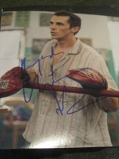CHRISTIAN BALE SIGNED AUTOGRAPH 8x10 PHOTO THE FIGHTER IN PERSON COA RARE D NYC