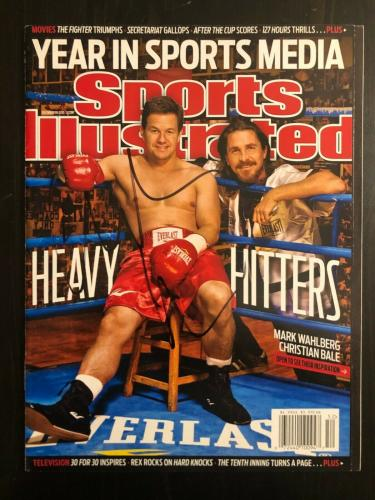 Christian Bale Signed Autograph Sports Illustrated Magazine 12/20/10 - Batman