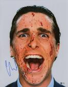 Christian Bale signed autographed 11x14 poster photo! RARE! Beckett BAS COA!