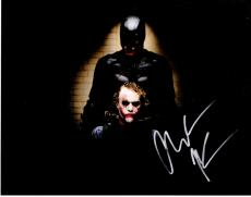 Christian Bale Signed - Autographed Batman - The Dark Knight 11x14 inch Photo - Guaranteed to pass PSA or JSA - Bruce Wayne and The Joker Heath Ledger - Pictured