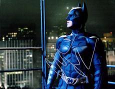Christian Bale Signed - Autographed Batman - The Dark Knight 11x14 Photo - Bruce Wayne