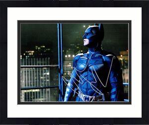 Christian Bale Signed - Autographed Batman - The Dark Knight 11x14 inch Photo - Guaranteed to pass BAS - Bruce Wayne