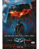 Christian Bale Signed Batman Authentic Autographed 11x14 Photo PSA/DNA #AD65911