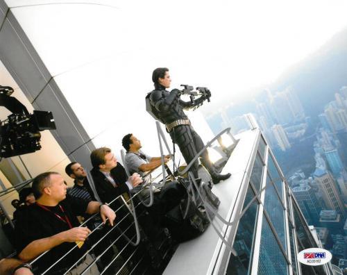 Christian Bale Signed Batman Authentic Autographed 8x10 Photo PSA/DNA #AD35162