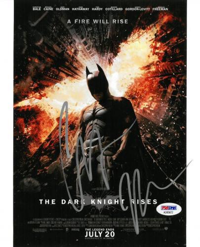 Christian Bale Signed Batman Authentic Autographed 8x10 Photo PSA/DNA #AD65872