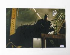 Christian Bale Signed Batman Autographed 11x14 Photo (PSA/DNA) #K03424