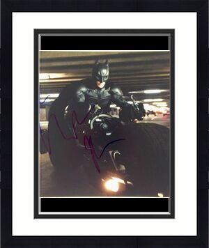 CHRISTIAN BALE Signed BATMAN Dark Knight Rises 11x14 Photo BAS COA Beckett PSA
