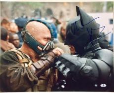 CHRISTIAN BALE Signed BATMAN Dark Knight Rises 16x20 Photo BAS COA Beckett Auto