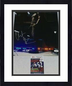 Christian Bale signed Batman The Dark Knight 11x14 photo autographed 2 JSA