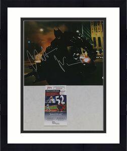 Christian Bale signed Batman The Dark Knight 11x14 photo autographed JSA