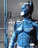Christian Bale signed Batman The Dark Knight 8x10 Photo- JSA Hologram #M56231 (movie/entertainment)