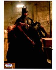 Christian Bale SIGNED IN PERSON 8x10 Photo Batman Dark Knight PSA/DNA AUTOGRAPH