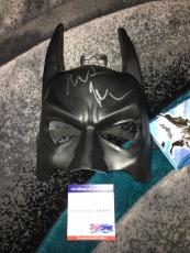 Christian Bale Signed Official Batman Mask The Dark Knight PSA/DNA #4