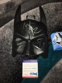 Christian Bale Signed Official Batman Mask The Dark Knight PSA/DNA #6