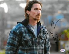 Christian Bale Signed Out of the Furnace Autographed 11x14 Photo PSA/DNA#AB35648