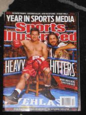 Christian Bale Signed Sports Illustrated The Fighter A