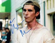 Christian Bale Signed The Fighter Autographed 11x14 Photo PSA/DNA #AA76958