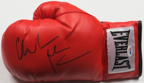Christian Bale Signed The Fighter Autographed Boxing Glove PSA/DNA #Z64139
