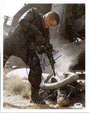 Christian Bale Terminator Salvation Signed 11X14 Photo PSA/DNA #I85349