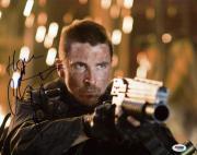 Christian Bale Terminator Salvation Signed 11X14 Photo PSA/DNA #M42655