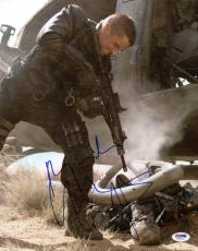 Christian Bale Terminator Salvation Signed 11X14 Photo PSA/DNA #T76111