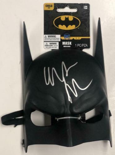 Christian Bale The Dark Knight Batman Signed Mask Autograph Beckett Coa