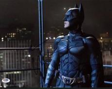 Christian Bale The Dark Knight Signed 11X14 Photo PSA/DNA #U52283