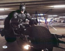 Christian Bale The Dark Knight Signed 11x14 Photo Psa/dna #x29429