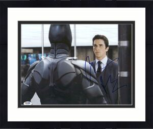 Christian Bale The Dark Knight Signed 11X14 Photo PSA/DNA #Y84034