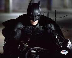 Christian Bale The Dark Knight Signed 8X10 Photo PSA/DNA #U36825
