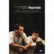"Christian Bale The Fighter Autographed 12"" x 18"" Movie Poster - BAS"