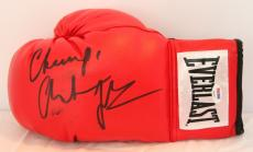 """CHRISTIAN BALE """"The Fighter"""" Signed Everlast Boxing Glove PSA/DNA #Y93425"""