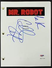 Christian Slater Signed Mr. Robot Movie Script PSA/DNA #AA82762