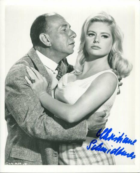 Christiane Schmidtmer Ship of Fools Boeing Boeing Playboy Signed Autograph Photo