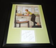 Christine Lahti Signed Framed 11x14 Photo Display Chicago Hope