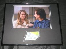 Christine Taylor Signed Framed 11x14 Photo Display JSA Seinfeld