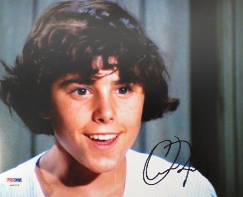 Christopher Knight Signed Brady Bunch Authentic Autographed 8x10 Photo (PSA/DNA)