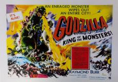 Akira Takarada Autographed Godzilla Movie Poster  JSA Authentic 2