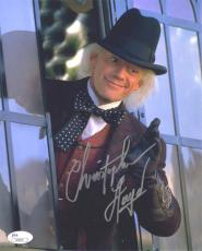 Christopher Lloyd Back to Future Autographed Signed 8x10 Photo Certified JSA